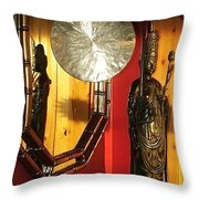 Film Noir Sam Fuller Robert Ryan House Of Bamboo 1955 Oriental Decorations Casa Grande Arizona 2004 Throw Pillow