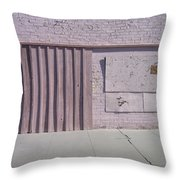 Film Noir Sean Young Kevin Kostner No Way Out 1987 Boarded Wall Eloy Arizona 2004 Throw Pillow