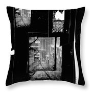 Film Noir Signe Hasso Lloyd Nolan House On 92nd Street 1945 Collage Antlers Hotel Victor Co 1971-'10 Throw Pillow