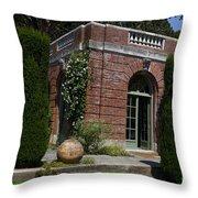 Filoli Garden House Throw Pillow