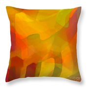 Filtered Throw Pillow by ME Kozdron
