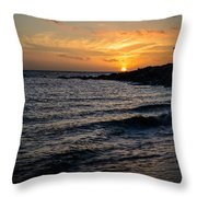 Final Moments Throw Pillow
