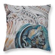 Financial Cliff Throw Pillow by PainterArtist FIN