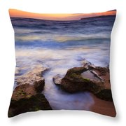 Finding The Cracks Throw Pillow by Mike  Dawson