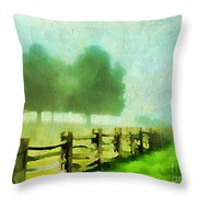 Finding Your Way Throw Pillow by Darren Fisher