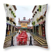 Findlay Market In Cincinnati 0003 Throw Pillow