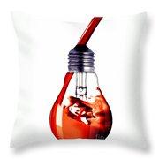 Fine Art Untitled No.33 Throw Pillow
