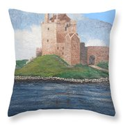 Fine Irish Castle Throw Pillow