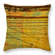 Fine Tuned Throw Pillow