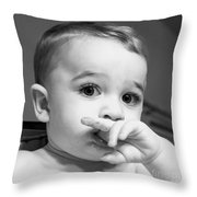 Finger Food Throw Pillow