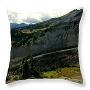 Finger Of Nisqualy Throw Pillow