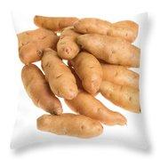 Fingerling Potatoes Throw Pillow