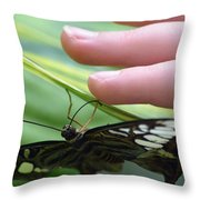 Fingers And Feet Throw Pillow