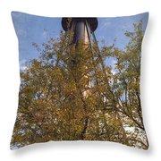 Finns Point Rear Range Light Throw Pillow