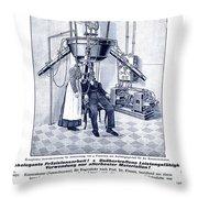 Finsen Apparatus, C1905 Throw Pillow