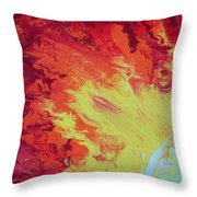 Fire And Glory Throw Pillow
