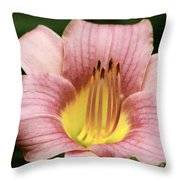Fire Below Throw Pillow