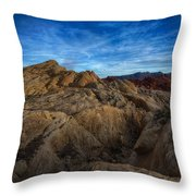 Fire Canyon Twilight Throw Pillow
