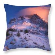 Fire Cap Throw Pillow by Darren  White