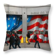 Fire Company 10 Throw Pillow