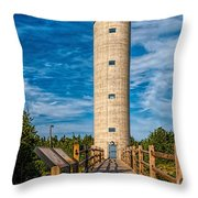 Fire Control Tower No. 23 Throw Pillow