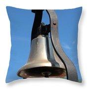 Fire Engine Bell Throw Pillow
