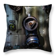 Fire Engine Number Two Throw Pillow