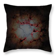Fire In The Clouds Throw Pillow