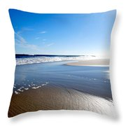 #nowivearrived Throw Pillow