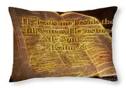 Fire Of God Throw Pillow