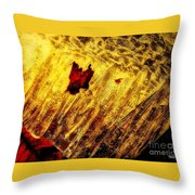 Fire Of The Frost Throw Pillow