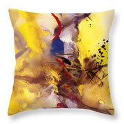 Fire Smoke And Brimstone II Throw Pillow