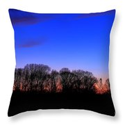 Fire Tower Watch In The Distance Throw Pillow