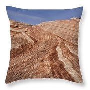 Fire Wave - Valley Of Fire Throw Pillow