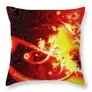 Firebirds Throw Pillow