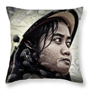 Firefighter Throw Pillow