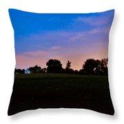 Firefly Fields Throw Pillow
