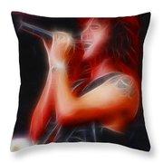 Firehouse-ga2a-fractal Throw Pillow
