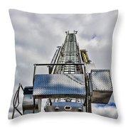 Fireman - Fire Ladder Throw Pillow