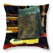 Fireman - Fireman's Boots Throw Pillow