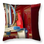 Fireman Hook And Ladder Throw Pillow