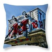 Fireman - The Fireman's Ladder Throw Pillow