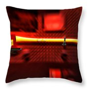 Firemen Ax Throw Pillow