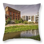 Firepool Water Tower  Throw Pillow