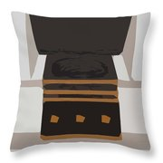 Fireside Without You Throw Pillow