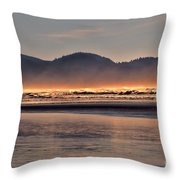 Firewater Throw Pillow