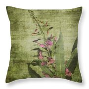Fireweed - Featured In 'comfortable Art' Group Throw Pillow