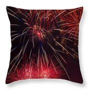Firework Majesty  Throw Pillow