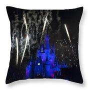 Fireworks-0703 Throw Pillow