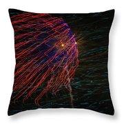 Fireworks 070414.222 Throw Pillow